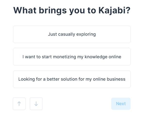 Kajabi入会方法